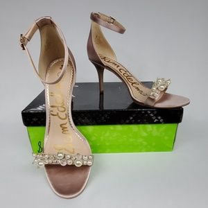 NEW Sam Edelman Platt Ankle Strap Sandal NIB